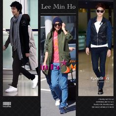 Lee Min Ho's Airport Fashion
