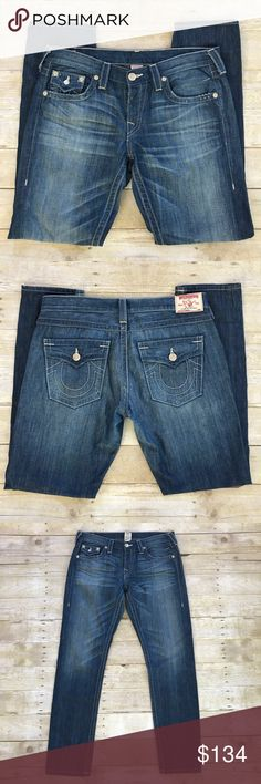 "⭐️True Religion lightweight jeans True religion lightweight jeans. Size 31. Inseam about 33"". True Religion Jeans"