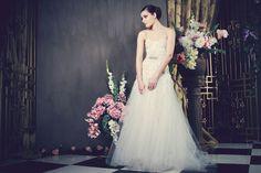 Christelle by Kobus Dippenaar's Anna Georgina Collection 2014 Blush Bridal, Bridal Gowns, Wedding Gowns, Bridal Collection, Dress Collection, African Fashion Designers, Vogue, Mod Wedding, Wedding Blog