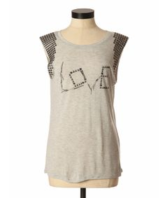 bootlegger.com : GUESS JEANS love hurts studded tank