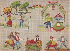 Plena Art's, Bordados em Ponto Cruz: Gráficos Africanos, Orientais, Egípcios, e outros.