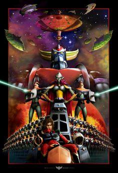 Ufo Robot Grendizer: Enemies! by Vincenzo Giordano (Vigior) on DeviantArt
