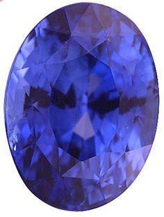 Blue Sapphire Loose Gemstone, Oval Cut, 11.4 x 8.5 mm, 6.03 Carats at BitCoin Gems