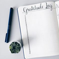 This lovely place to keep all the things you're grateful for, which is imperative to mental health: | 29 Bullet Journal Layouts For Anyone Trying To Be Healthy