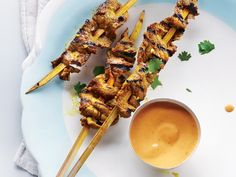 Beef Satay with Thai Dipping Sauce