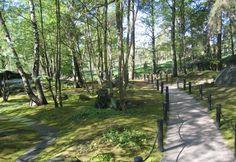 Japanilaistyylinen puutarha / Japanese style garden in Roihuvuori (Helsinki, Finland)