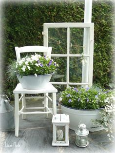DIY Gartendeko selber machen – Fensterdeko