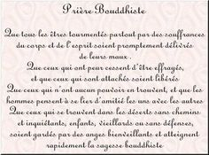 Prière Bouddhiste - Le Nirvana Panneaux, citations et bonnes paroles