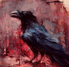 Red Raven by Lindsey Kushtush
