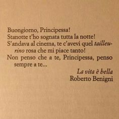 """""""La vita è bella"""" -  Roberto Benigni"""