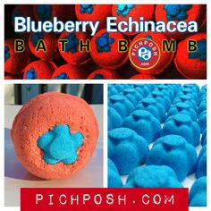 Check out our new PICHPOSH.com Bath Bomb - Blueberry Echinacea - Unexpected Sweet Bouquet both fresh & intoxicating . While bathing add one or more Bath Bombs to your Bath & discover the PICHPOSH.com Experience.  Shop here: http://www.pichposh.com/securestore/c148229p9558924.2.html  Visit PICHPOSH.com http://www.pichposh.com #bathbomb #blueberry #echinacea #bathandbody #summer #fun #pichposh