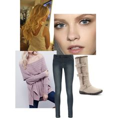 Warm and Casual by sarabray on Polyvore featuring polyvore fashion style Boohoo Bucco