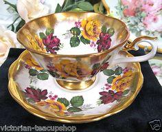 Royal Albert Avon Shape Tea Cup and Saucer Treasure Chest Pattern | eBay