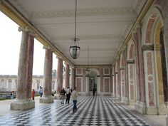 Le Grand Trianon, Chateau de Versailles -- my favorite part of the palace and gardens