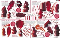 Image result for brown based red lipstick