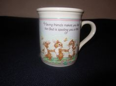Vintage Hallmark Mug Mates Coffee Cup with LId  by coppat341, $5.00