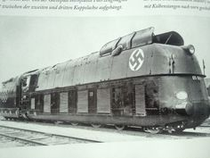 One of the fastest prewar trains in the world at the time that, it  was also used during war time for various duties.