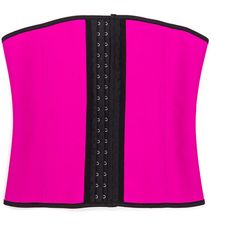 Shape Up Waist Cincher PINKBLACK (Final Sale) (265 SEK) ❤ liked on Polyvore featuring intimates, shapewear and black