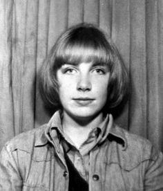 Annie Lennox as a teenager