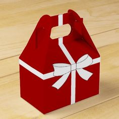Winter Bride Reception Shower Holiday Favor Boxes - chic design idea diy elegant beautiful stylish modern exclusive trendy
