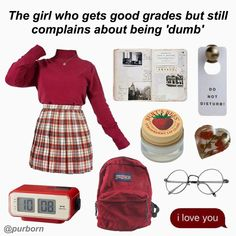 Smart Girl who complains about being dumb aesthetic outfit mood board Smart Girl who complains about being dumb aesthetic outfit mood board Aesthetic Fashion, Classy Aesthetic, Aesthetic Clothes, Aesthetic Outfit, Summer Aesthetic, Tumblr Outfits, Grunge Outfits, Hipster Outfits, Emo Outfits