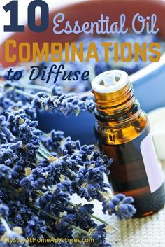 If you have essential oils, you're probably very aware of their many benefits. But, did you know about Essential Oil combinations that will help you can get some amazing smells and added benefits?
