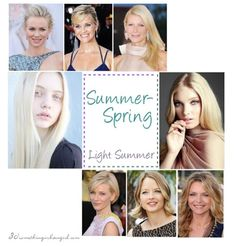 Are you a Summer-Spring (Light Summer)?