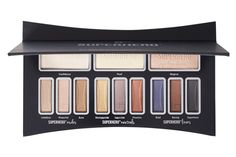 "Caked-on, too-dry shadow is so not cute. The three ""foundation"" shadows here prep and smooth lids, while peptides and collagen provide extra anti-aging benefits. Once you're primed, select from three trios of color. IT Cosmetics Superhero Eye Transforming Anti-Aging Super Palette, $42; ulta.com"