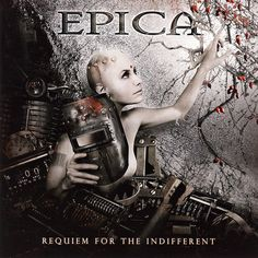 Caratula Frontal de Epica - Requiem For The Indifferent