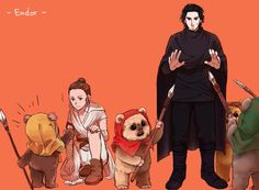 Star Wars Love, Star Wars Art, Tv Movie, Knights Of Ren, She Wolf, Episode Vii, Jedi Knight, The Force Is Strong, Post Apocalypse