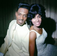 Husbandandwife RB duo Ike Tina Turner pose for a portrait in circa 1963