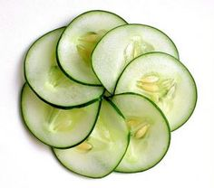 cucumber eye pad recipe