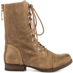 Aldo Women's Brooklyn - Taupe ($109) ❤ liked on Polyvore featuring shoes, boots, ankle booties, ankle boots, beige, suede ankle boots, lace up boots, suede booties and lace-up ankle boots