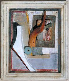 Kurt Schwitters, '(Relief in Relief)' circa 1942-5