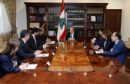 EU U.S. affirm Lebanon support diverging from Saudi  By Tom Perry and Lisa Barrington BEIRUT (Reuters) - The European Union and the United States on Wednesday reaffirmed support for Lebanon after the resignation of its prime minister striking a sharp contrast to Saudi Arabia which accuses Beirut of declaring war because of the Shi'ite group Hezbollah. Statements of support from EU ambassadors to Lebanon and the United States have set a different tone to their Sunni Gulf ally Saudi Arabia…