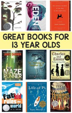 Books for 16 year olds