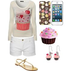 Cupcake. Please follow me on Polyvore! This is my profile: http://arletty2709.polyvore.com