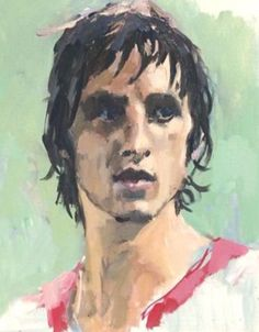 legend Johan Cruyff oil painting #johanCruyff