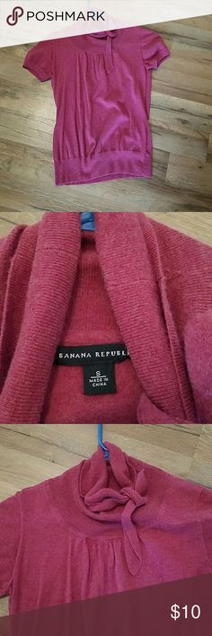 Banana Republic top Great pre-loved condition! Soft material. The color in the pic is the true color. Banana Republic Tops Blouses