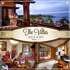 Enjoy the comforts and the convenience of home when you and your family stay in a villa at Aulani, a Disney Resort & Spa in Hawai'i!