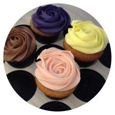 Black Doris Plum, Lemon Tart, Ripe Strawberry and Double Chocolate #petalcupcakes #cupcakes xo