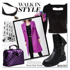 """""""Walk In Style"""" by jecakns ❤ liked on Polyvore featuring Bomedo"""