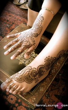 Bridal henna <3