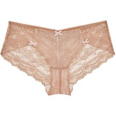 Womens Briefs Myla Nicole Caramel Lace Briefs (275 BRL) ❤ liked on Polyvore featuring intimates, panties, underwear, lingerie, briefs panties, lacy panty, myla lingerie, underwear lingerie and lace panties