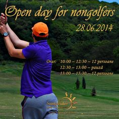 For all those who want to learn Golf, join us on the OPEN DAY for Non Golfers ! It's FREE!  Reservations: http://sungardenresort.ro/news-archive/122-open-day-for-non-golfers