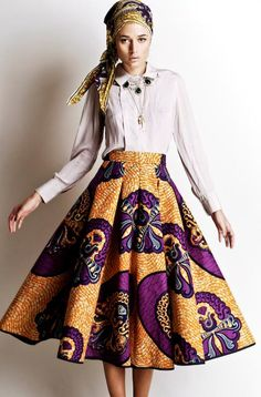 Stella Jean S/S 2012 African Inspired Collection. This skirt is gorgeous Stella Jean, Fashion Mode, Look Fashion, Womens Fashion, Fashion Design, Stella Fashion, Fashion Styles, Fashion Outfits, African Attire