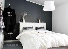 Makuuhuone valossa ja uudesta kuvakulmasta | Esmeralda's