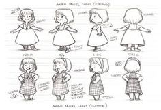 model sheets - Google Search