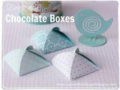 DIY Chocolate Box Wedding Favors · DIY Weddings | CraftGossip.com