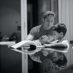 The moments with my son are always amazing. You can see some special moments with him in the new film.